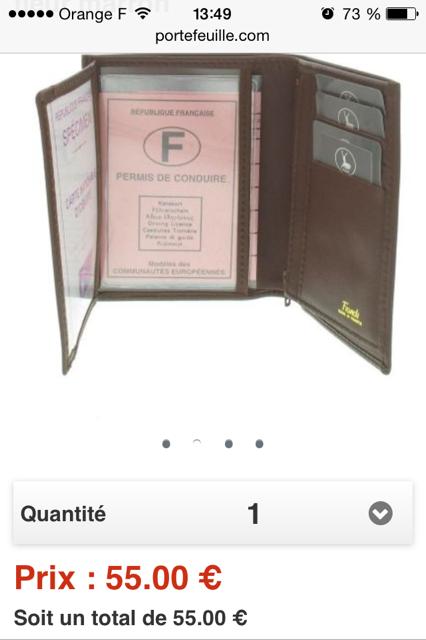 fiche produit portefeuille.com