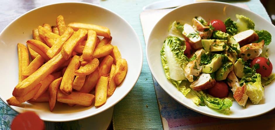 frites ou salade? Il vous faut un test AB pour decider !
