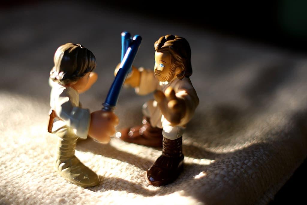 Chevaliers Jedi en Duel