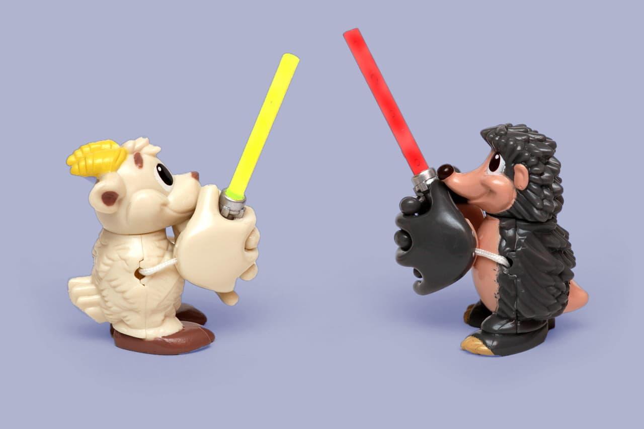 Jedi vs Sith duel