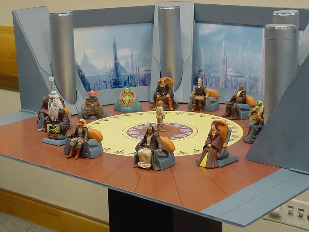 Conseil Jedi en Séance