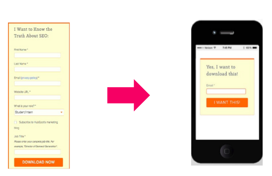 UX mobile doit être ultra simple