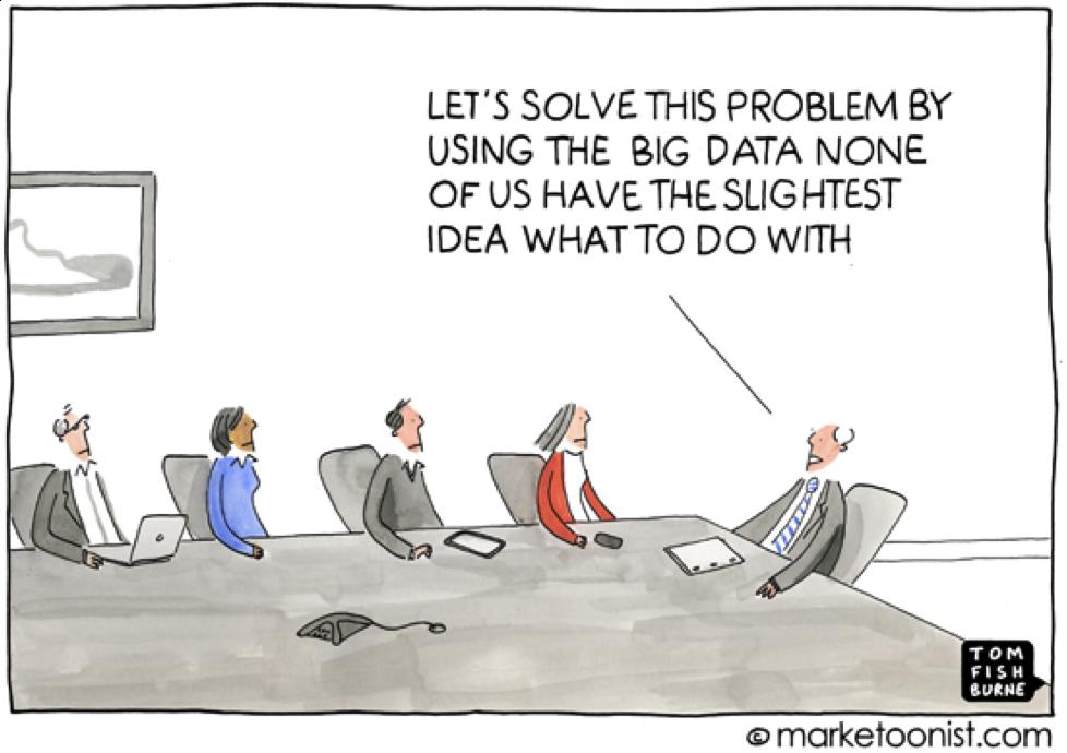 Trop de données tue les données