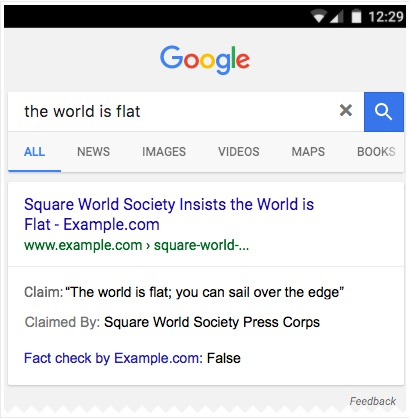 extrait enrichi fact checking