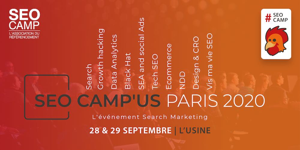 programme seo camp'us paris 2020